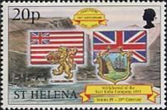 [The 500th Anniversary of the Discovery of St. Helena, type ZW]