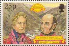 [The 500th Anniversary of the Discovery of St. Helena, type ZX]