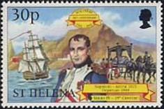 [The 500th Anniversary of the Discovery of St. Helena, type ZY]