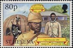 [The 500th Anniversary of the Discovery of St. Helena, type ZZ]