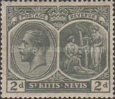[King George V of the United Kingdom and Christopher Columbus, type F1]