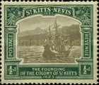 [The 300th Anniversary of the Founding of the Colony of St. Kitts, type G]