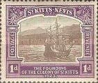 [The 300th Anniversary of the Founding of the Colony of St. Kitts, type G1]