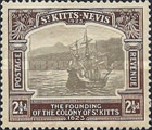 [The 300th Anniversary of the Founding of the Colony of St. Kitts, type G4]
