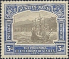 [The 300th Anniversary of the Founding of the Colony of St. Kitts, type G5]