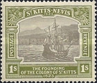 [The 300th Anniversary of the Founding of the Colony of St. Kitts, type G7]