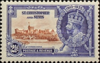 [King George V - Silver Jubilee, type H2]