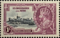 [King George V - Silver Jubilee, type H3]