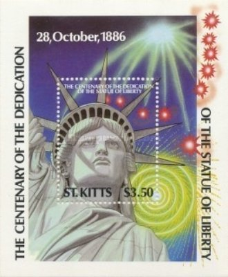 [The 100th Anniversary of Statue of Liberty, type ]
