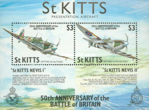 [The 50th Anniversary of Battle of Britain - Airplanes, type ]