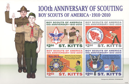 [The 100th Anniversary of Scouting, type ]