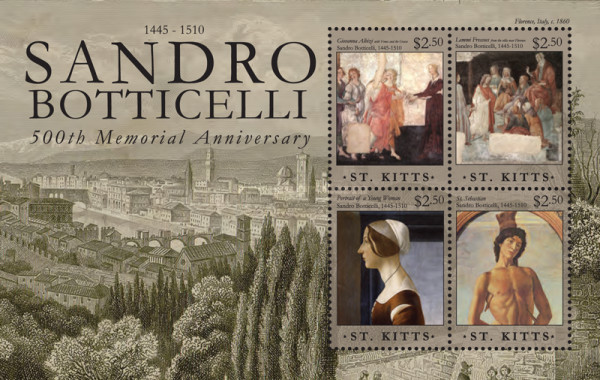 [The 500th Anniversary (2010) of the Death of Sandro Betticelli, 1445-1510, type ]