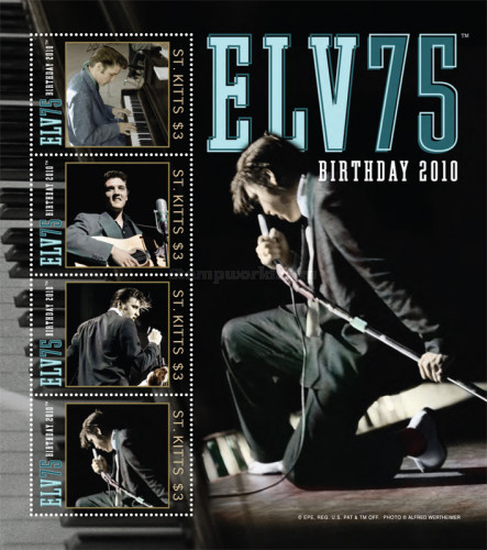[The 75th Anniversary (2010) of the Birth of Elvis Presley, 1935-1977, type ]