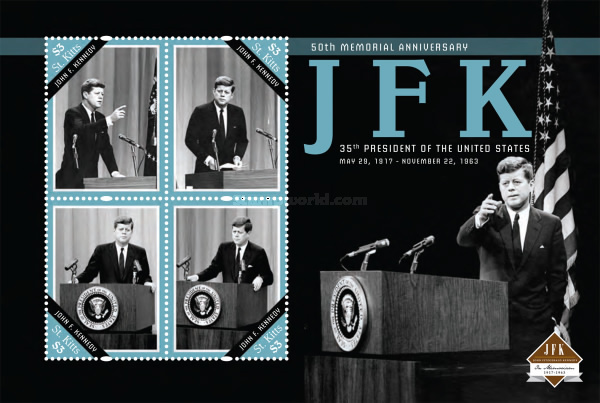 [The 50th Anniversary (2013) of the Death of President J.F.Kennedy, 1917-1963, type ]
