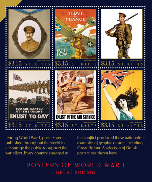 [Posters of World War I, type ]