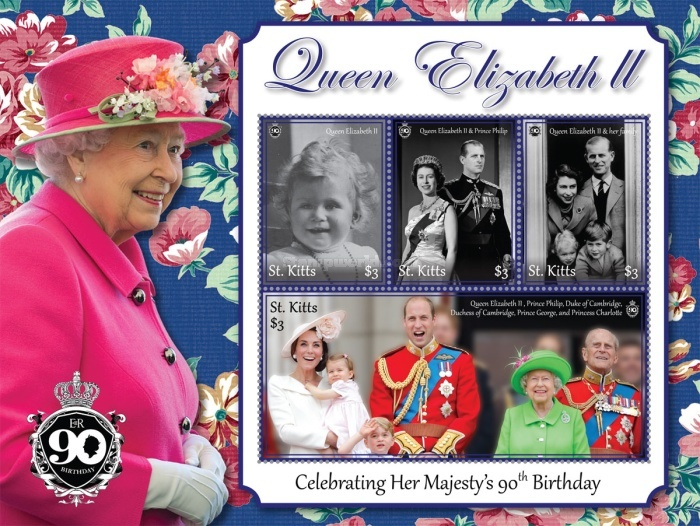 [The 90th Anniversary (2016) of the Birth of Queen Elizabeth II, type ]