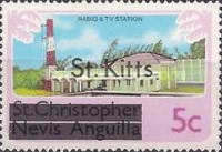 "[Stamps of St. Kitts-Nevis Overprinted ""St Kitts"", type A]"