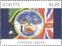 [The 60th Anniversary of the Accesion of Queen Elizabeth II, type AVT]
