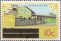 "[Stamps of St. Kitts-Nevis Overprinted ""St Kitts"", type B]"