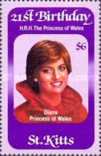 [The 21st Anniversary of the Birth of Princess of Wales, 1961-1997, type BL]