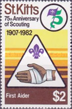 [The 75th Anniversary of Boy Scout Movement, type BR]