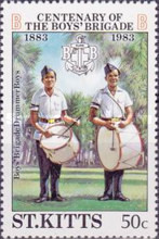 [The 100th Anniversary of Boys' Brigade, type CE]