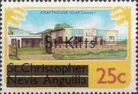 "[Stamps of St. Kitts-Nevis Overprinted ""St Kitts"", type E]"