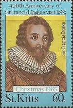 [Christmas - The 400th Anniversary of Sir Francis Drake's Visit, 1540-1596, type ER]
