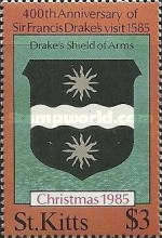 [Christmas - The 400th Anniversary of Sir Francis Drake's Visit, 1540-1596, type ES]