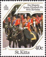 [The 60th Anniversary of the Birth of Queen Elizabeth II, type EV]