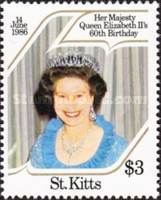 [The 60th Anniversary of the Birth of Queen Elizabeth II, type EW]