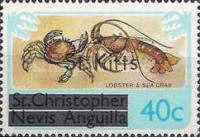 "[Stamps of St. Kitts-Nevis Overprinted ""St Kitts"", type G]"