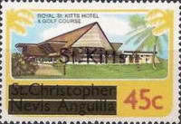 "[Stamps of St. Kitts-Nevis Overprinted ""St Kitts"", type H]"
