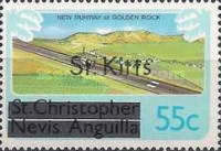 "[Stamps of St. Kitts-Nevis Overprinted ""St Kitts"", type J]"