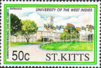 [The 40th Anniversary of University of West Indies, type KB]