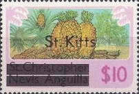 "[Stamps of St. Kitts-Nevis Overprinted ""St Kitts"", type M]"