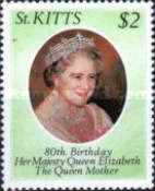 [The 80th Anniversary of the Birth of Queen Elizabeth The Queen Mother, 1900-2002, type T]