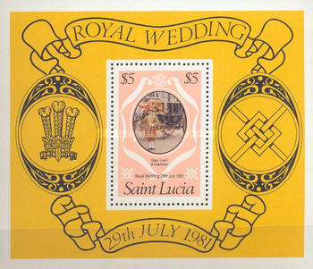 [Royal Wedding of Prince Charles and Lady Diana Spencer, Typ ]