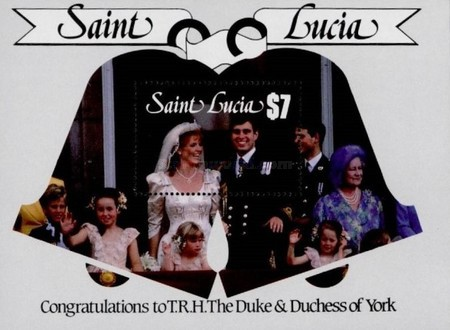 [Royal Wedding of Prince Andrew and Miss Sarah Ferguson, Typ ]