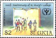 [International Literacy Year - The 100th Anniversary of St. Mary's College, Castries, Typ ACA]