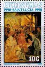 [Christmas - Religious Paintings, Typ ACH]