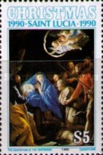 [Christmas - Religious Paintings, Typ ACK]