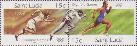 [The 100th Anniversary of Modern Olympic Games, Typ AFA]