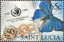 [The 50th Anniversary of Universal Declaration of Human Rights - Butterflies, Typ AGX]