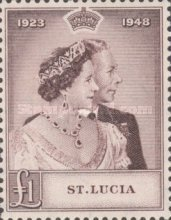 [The 25th Anniversary of the Wedding of King George VI and Queen Elizabeth, Typ AI]