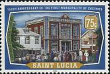 [The 150th Anniversary of Castries Municipality, Typ AIB]