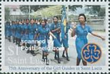 [The 75th Anniversary of Girl Guides in St. Lucia, Typ AIF]
