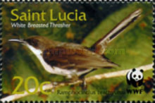[Endangered Species - Birds of St. Lucia, Typ AIM]
