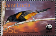 [Endangered Species - Birds of St. Lucia, Typ AIN]