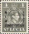 [New Constitution - Overprinted